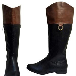Merona | Tall, Black & Brown Riding Boots